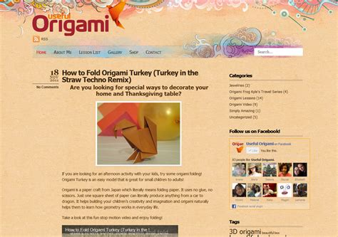 Origami Site - sle origami websites 2018