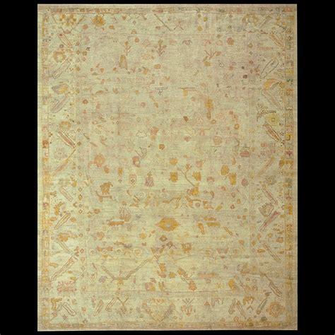 Decorative Rugs by Antique Oushak Rug 6530 Turkish Decorative 9 0 X 11