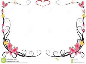 butterfly border template free butterfly clipart borders clipartsgram