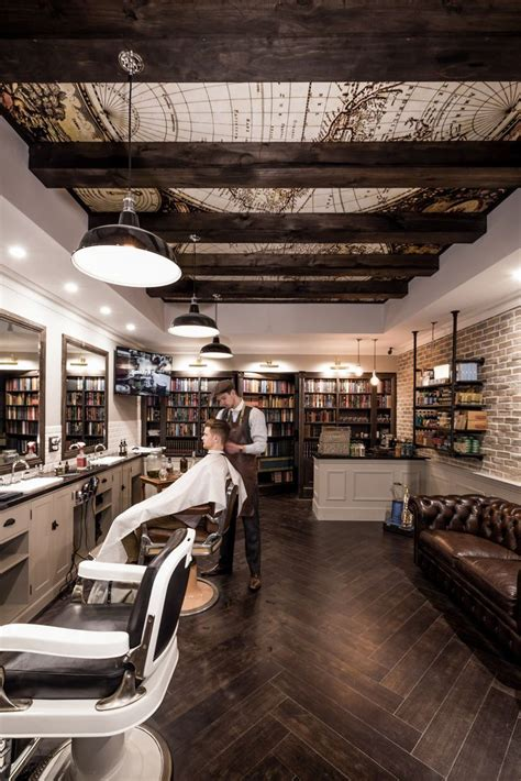 Barber Shop Interior Pictures by 25 Best Ideas About Shop Interior Design On