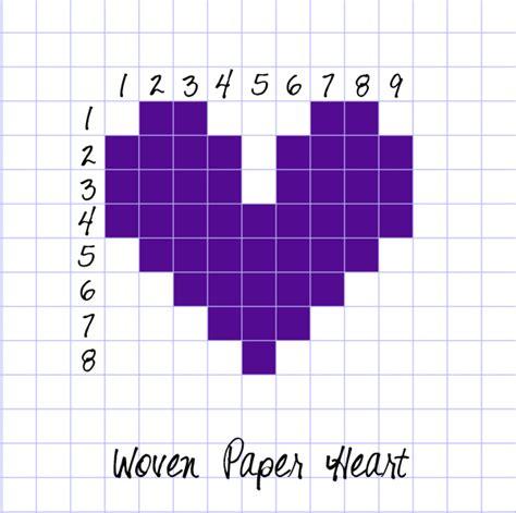 heart grid pattern designs of chart paper new calendar template site