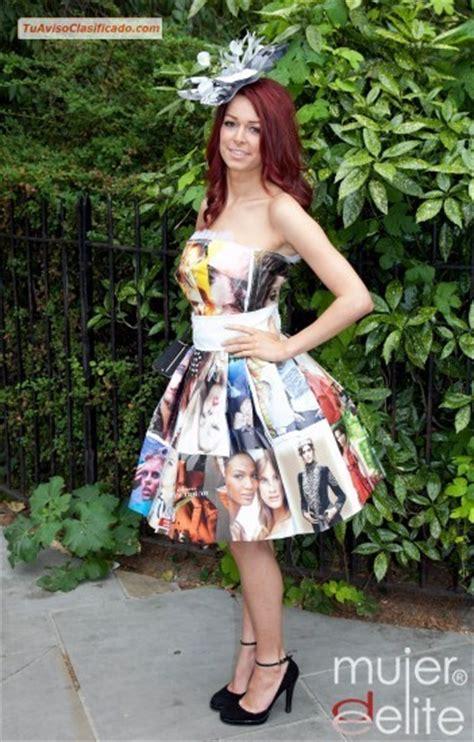traje xe reciclado trajes tipicos con material reciclados carteras mascaras