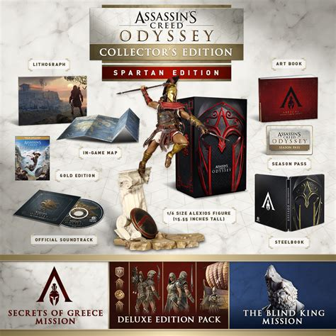 1405939745 assassin s creed odyssey the official buy assassin s creed 174 odyssey spartan collector s edition