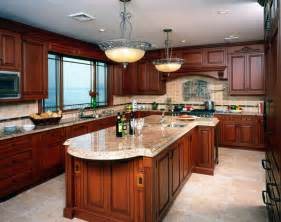 Kitchen Cabinets And Countertops Designs kitchen cabinets crown molding brown granite countertops chalk paint