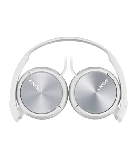 Headphone Sony Zx310 buy sony mdr zx310 ear headphones white without mic at best price in india snapdeal