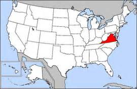 usa map virginia state virginia simple the free encyclopedia
