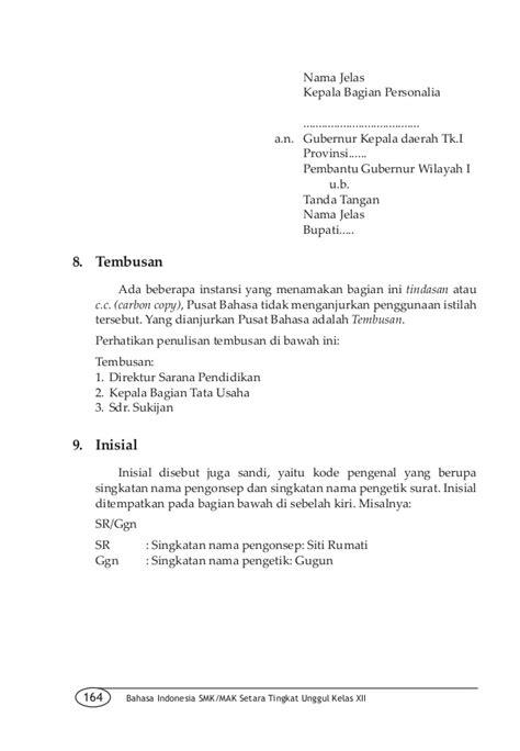 contoh surat lamaran kerja bagian administrasi kantor 28 images