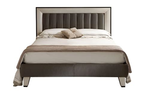 headboard bed contemporary double bed padded headboard with frame