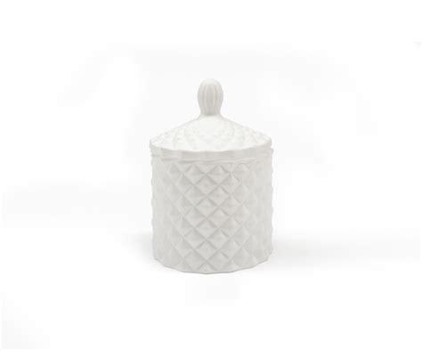 baby matte baby matte white geo cut glass 100ml luxury candle