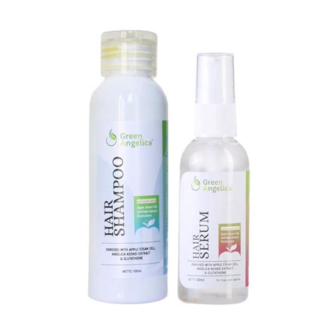 Vitamin Rambut Rontok Hair Serum jual green combo 3 hair sho hair serum