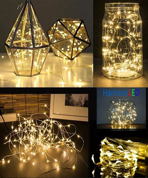 String Lights Decor by 10x5m 50 Battery Operated Led Decor L