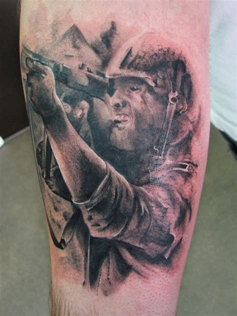 tattooed soldier 22 best images about soldier on gun