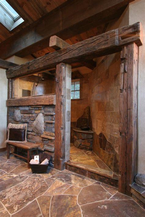 Outhouse Shower Curtain Des Salles De Bain Rustiques Pour Vous R 233 Chauffer Cet