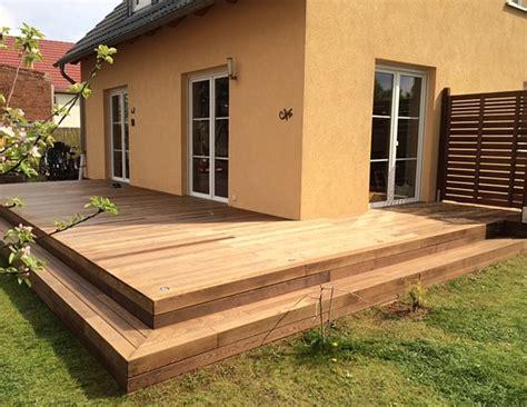 Terrasse Mit Stufen by Deryckere Handwerk Deryckere Handwerk Holz