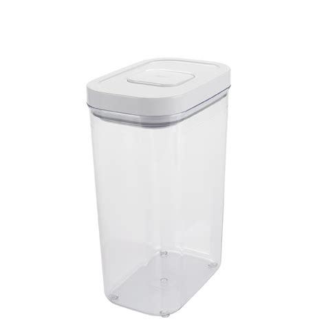 Rectangular Storange Container 370ml oxo 2 7 qt rectangle pop container