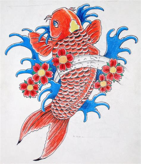 koi fish color meaning chart top colorful koi fish drawings images for tattoos