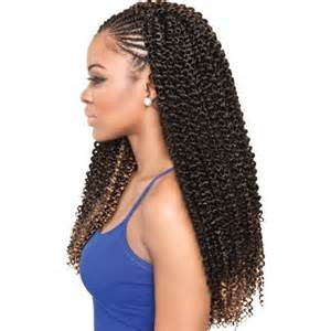 plaitted caribbean hair isis collection caribbean bundle braids cork screw