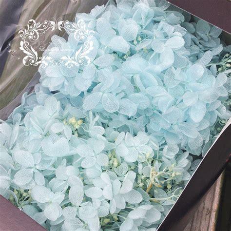 Box A Single Blue Preserved Flower Represent Unattainable preserved fresh flower water blue fresh dried flowers diy flower pretty quality flower diy