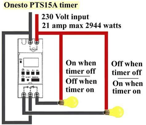 digital timer wiring diagram wiring diagrams schematics