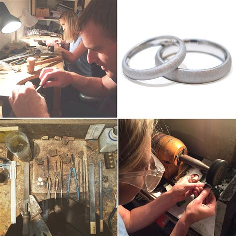 make your own wedding ring jewellery classes