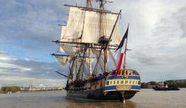 le bateau hermione a bordeaux quot cheese wine quot 224 bord de la fr 233 gate l hermione bient 244 t de
