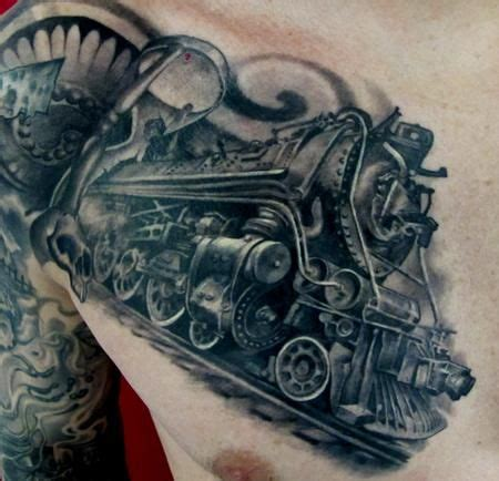 steam train tattoo designs always think about getting one never sure