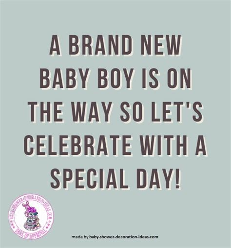 Baby Shower Quotes For Boy by Quotes For Boys Baby Shower Quotesgram