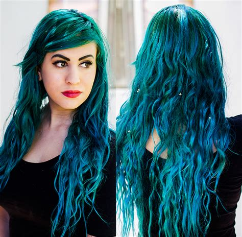 dark green hair turquoise without bleach red to teal hair without bleaching on dainty fawn my