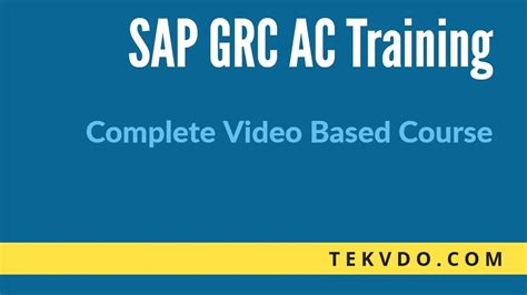 sap grc tutorial sap grc training msmp workflow introduction sap grc 10