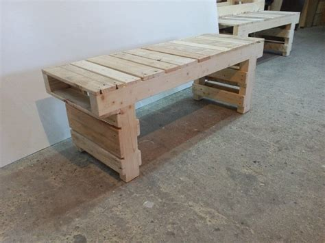 wooden pallet benches old pallet wood bench 101 pallets