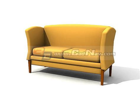 courting bench courting bench sofa 3d model 3dmax 3ds files free download