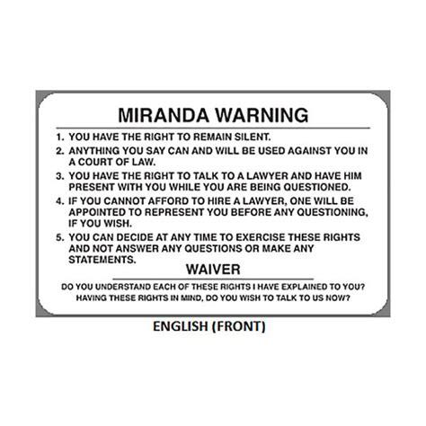 printable rights card miranda rights geiger miranda warning card mwc