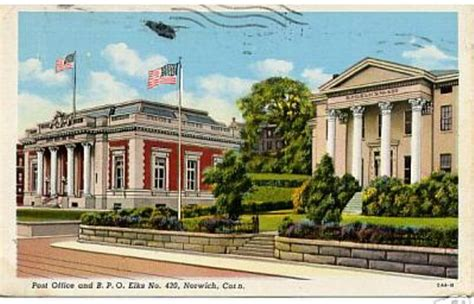 Middletown Ct Post Office by Connecticut