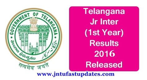 Jntu Mba 1st Sem Results 2017 Manabadi by Telangana Ts Inter 1st Year Results 2017 Ts Junior
