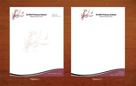 elegant personable letterhead design design for natasha