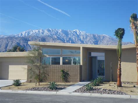 Midcentury Modern Houses - palm springs homes live from la quinta