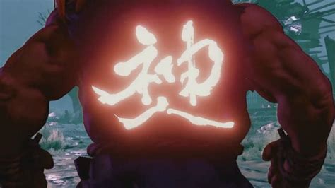 Fighter Akuma Black akuma is coming to fighter v news www gameinformer