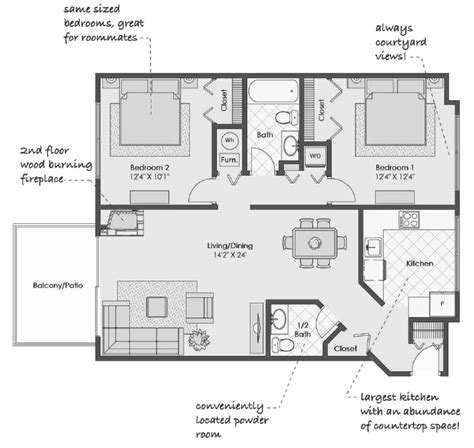barrington floor plan barrington floor plan bristol club apartments