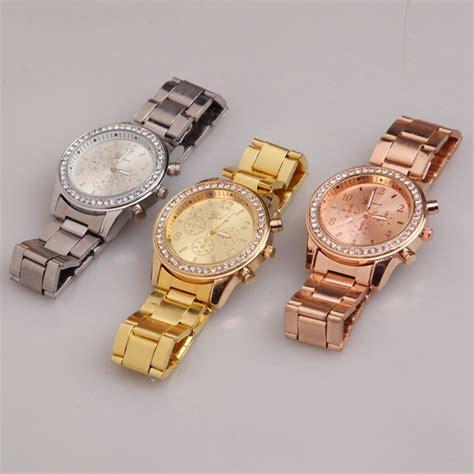Jam Tangan Geneva Silver geneva jam tangan analog yq004 silver