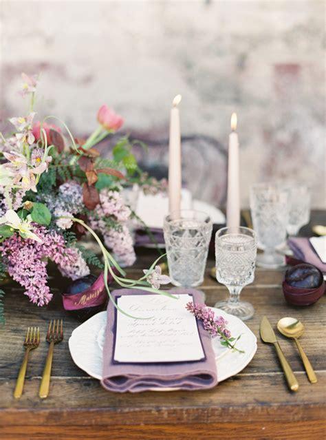 21 ideas for a breathtaking amethyst wedding chic
