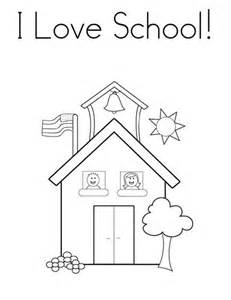 school house color page i school house coloring page coloring sky