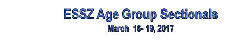 age group sectionals star aquatics event