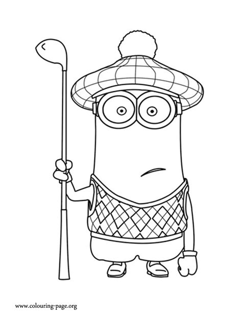 Newest Coloring Pages Despicable Me Minions Coloring Pages
