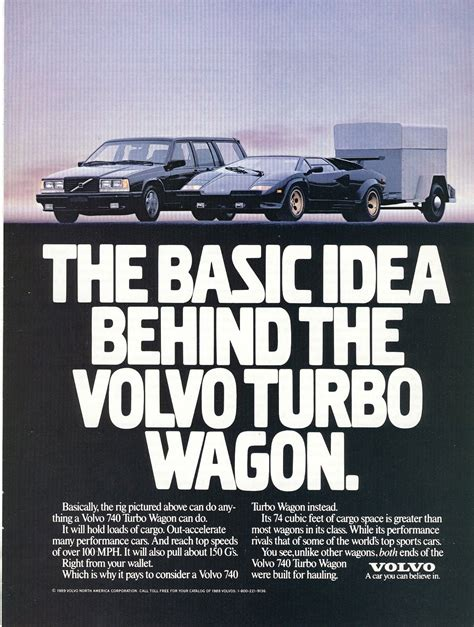 the volvo commercial volvo t5 howling engine plain brown wrapper