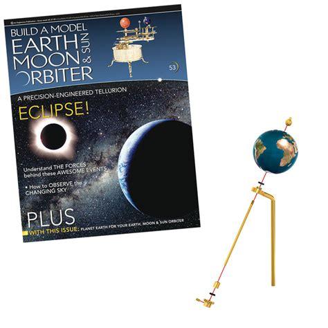 Build A Model Earth Moon And Sun Orbiter
