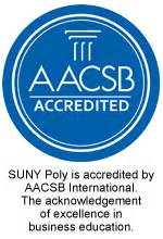 Aacsb Mba Accelerated by Business Administration Suny Polytechnic Institute