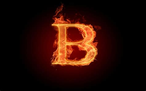 Letter Hd Free Hd Burning Letter B Wallpapers Ventube
