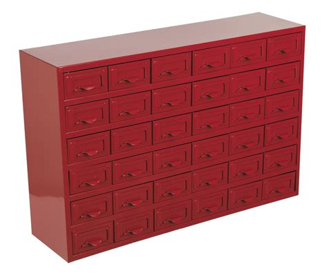 Metal Storage Drawers sealey metal parts storage cabinet box 36 drawer apdc36 ebay