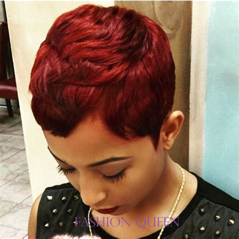 pixie style with tara bump dhl free shipping 27 pieces human short hair weave short