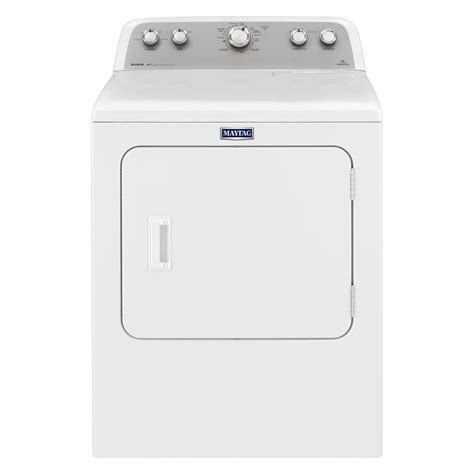 maytag bravos 7 0 cu ft gas dryer in white mgdx655dw